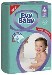 Evy Baby Подгузники Maxi Jumbo 7-18кг №4 64шт