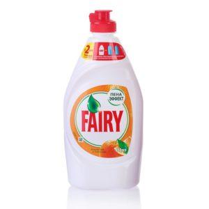 FAIRY Средство для мытья посуды Апельсин и лимонник 450мл