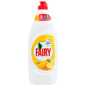 FAIRY Средство для мытья посуды Сочный лимон 650мл