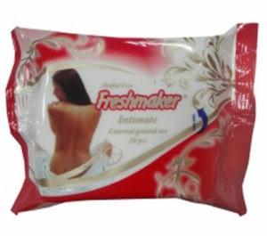 FRESHMAKER Влажные салфетки для Интимной Гигиены 20шт