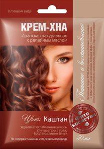 Fito Косметика Крем-Хна с Репейным маслом Каштан 50мл