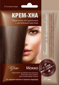 Fito Косметика Крем-Хна с Репейным маслом Мокко 50мл
