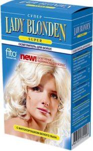 Fito Косметика Lady Blonden Extra Осветлитель для волос 35мл