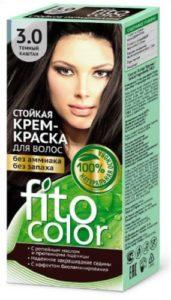 Fito Color Краска для волос Тон 3.0 тёмный каштан 115мл