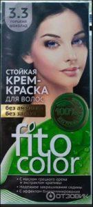 Fito Color Краска для волос Тон 3.3 Горький шоколад 115мл
