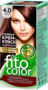 Fito Color Краска для волос Тон 4.0 Каштан 115мл