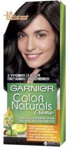 Garnier Color Naturals Краска для волос №2.0 Элегантный Чёрный 110мл