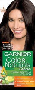 Garnier Color Naturals Краска для волос №3 Тёмный Каштан 110мл
