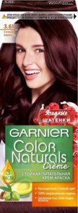 Garnier Color Naturals Краска для волос №3.61 Сочная Ежевика 110мл