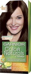 Garnier Color Naturals Краска для волос №4 Каштан 110мл