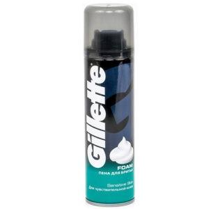 Gillette Пена для бритья Для чувствительной кожи 200мл