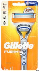 Gillette Fusion Бритва с 2 сменными кассетами