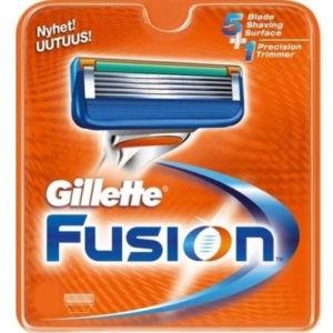 Gillette Fusion Сменные кассеты для бритья 8 шт (штучно)