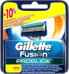 Gillette Fusion ProGlide Сменные Кассеты для бритья 4шт (штучно)