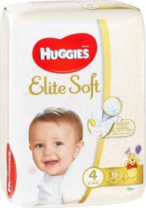 Huggies подгузники Elite Soft №4 19шт