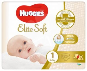 Huggies подгузники Elite Soft Convy №1 25шт