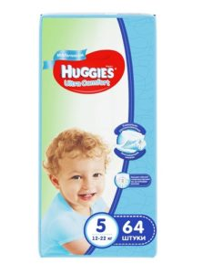 Huggies подгузники Ultra Comfort №5 Giga Boy 64шт