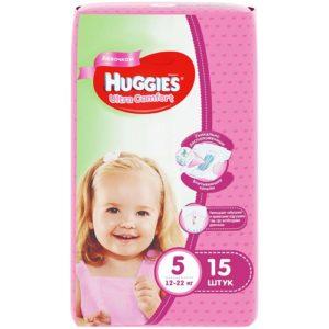 Huggies подгузники Ultra Comfort Convy №5 Girl15шт