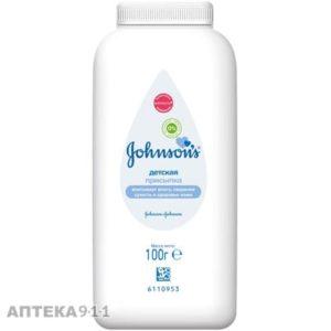 Johnson's Baby Детская присыпка для тела 100гр