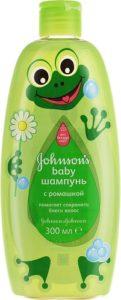 Johnson's Baby Шампунь Детский с ароматом Ромашки 300мл