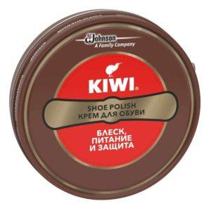 KIWI Крем для обуви в металлической банке Коричневый 50мл 1шт