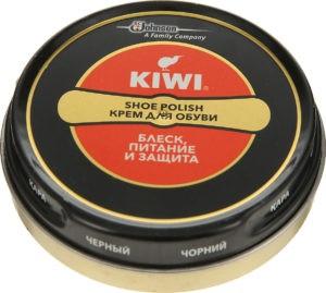 KIWI Крем для обуви в металлической банке черный 50мл 1шт