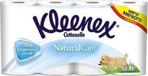 Kleenex туалетная бумага Natural Care 8шт