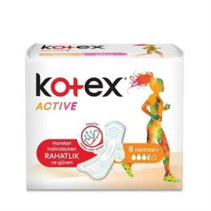 Kotex Прокладки Active (Single) Normal PUMA CEE 8шт