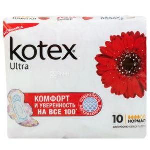 Kotex Прокладки  Ultra Dry Normal Pads 10шт