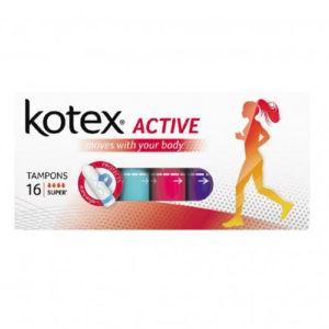 Kotex Тампоны Active Super 16шт