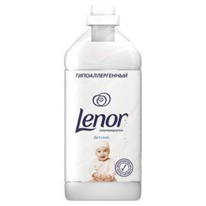 LENOR Кондиционер суперконцентрат для белья Детский 1000мл