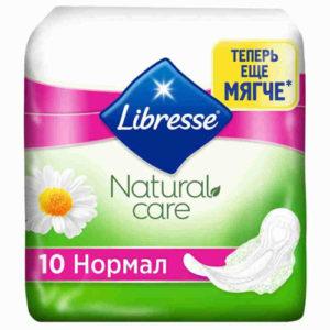 Libresse Гигиенические Прокладки Natural Care Normal 10шт