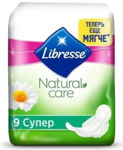 Libresse Гигиенические Прокладки Natural Care Super 9шт