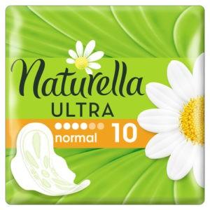 NATURELLA Ultra Женские гигиенические прокладки с крылышками Camomile Normal Single 10шт