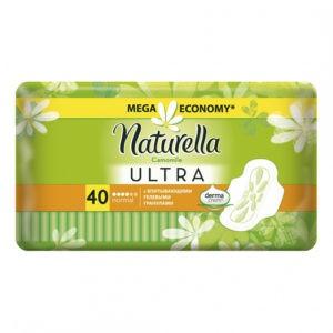 NATURELLA Ultra Женские гигиенические прокладки Camomile Normal Quatro 40шт