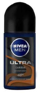 Nivea Men Антиперспирант ролик Ultra Energy Carbon 50мл