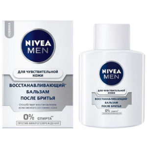 Nivea Men Бальзам после бритья для Чувствительной кожи 100мл