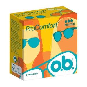 O.b. ProComfort Тампоны Normal 8шт