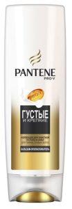 PANTENE Бальзам-ополаскиватель Густые и крепкие для тонких и ослабленных волос 200мл