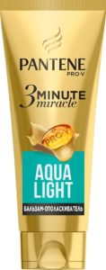 PANTENE Бальзам-ополаскиватель 3 Minute Miracle Aqua Light 200мл