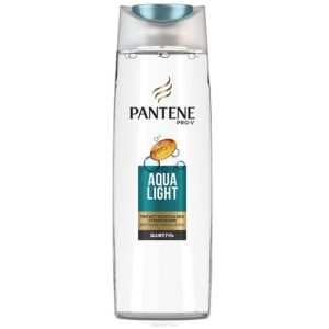 PANTENE Легкий питательный шампунь Aqua Light для тонк. склон. к жирности волос 400мл