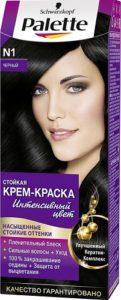 Palette Краска для волос N1 Чёрный 50мл
