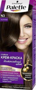 Palette Краска для волос N3 Каштановый 50мл