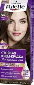 Palette Краска для волос N5 Тёмно-русый 50мл