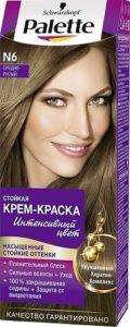 Palette Краска для волос N6 Средне-русый 50мл