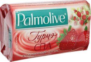 Palmolive мыло Гурмэ Клубничный смузи 90гр