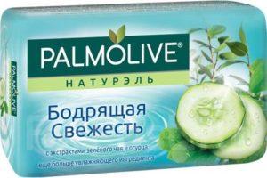 Palmolive мыло Натурэль Зеленый чай и огурец 90гр