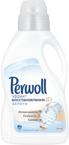 Perwoll Средство для стирки Восстановление белого 3D 1л