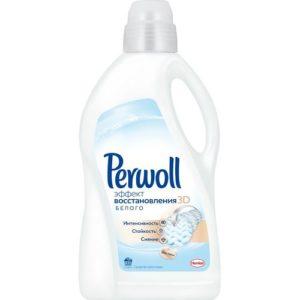Perwoll Средство для стирки Восстановление белого 3D 2л