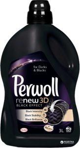 Perwoll Средство для стирки Восстановление черного 3D 3л